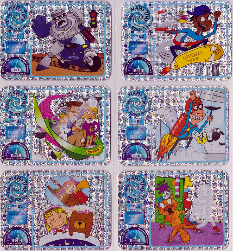 Yoyo Bear Future Time Travel Cards Gallery